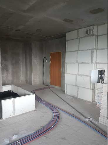 Квартира в новостройке без стен