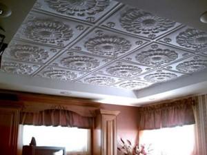 пенопластовый потолок