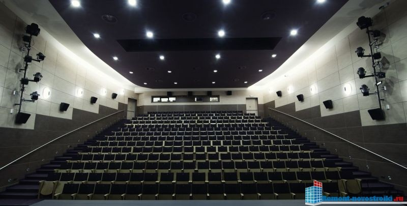 ремонт кинотеатров в москве