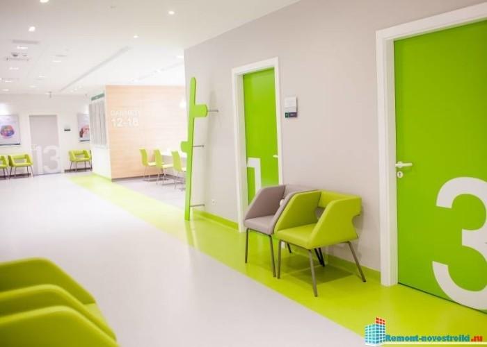 Ремонт медицинских центров