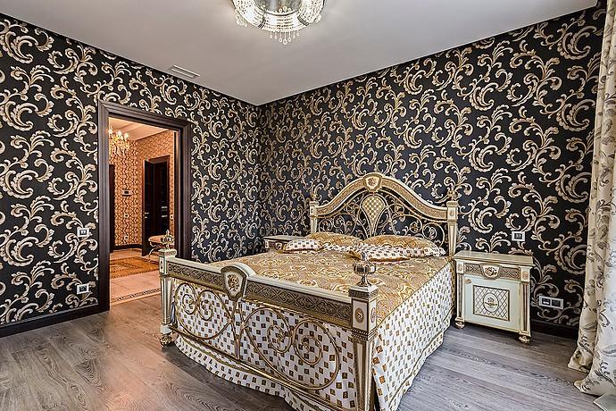 спальня в стиле версаче