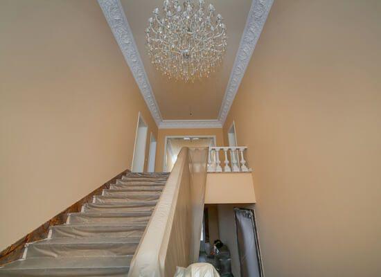 Красивый ремонт на лестнице