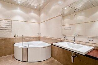 круглая ванна в квартире