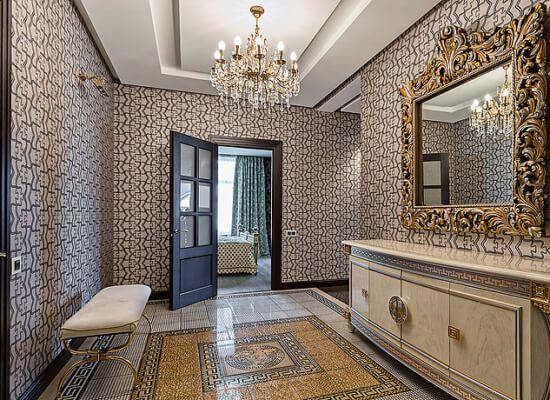 красивый ремонт гостинной