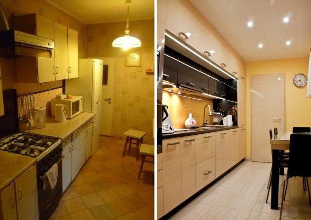 ремонт старой кухни