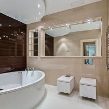 ванная в элитной квартире