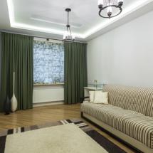 ремонт комнаты потолок с подсветкой
