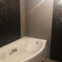 плитка в ванной узорчатая