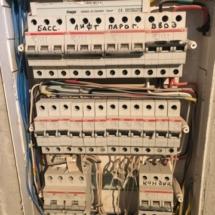 электрощиток в коттедже