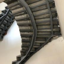 монтаж лестницы из металла