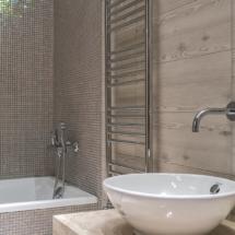 ванная в мозайке