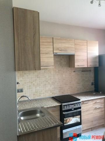 кухня в однокомнатной квартире 40 мкв