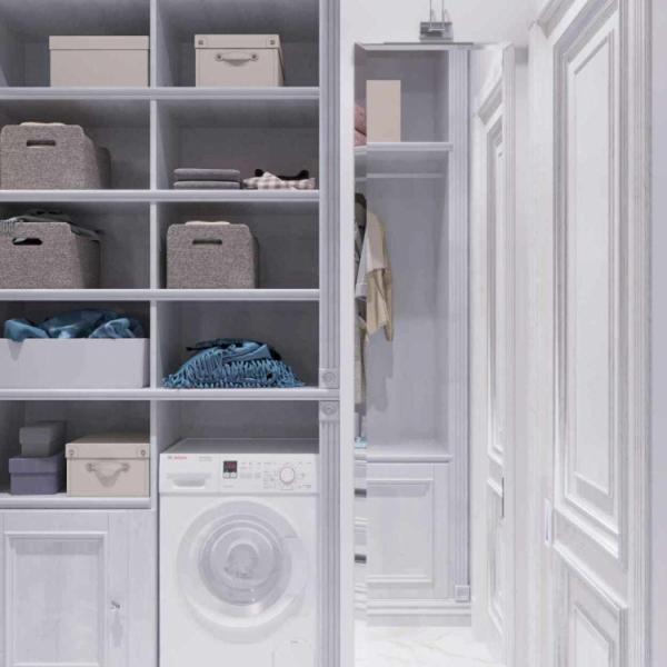 Дизайн градеробной комнаты