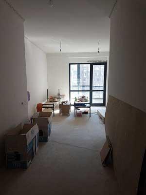 комната в ремонте