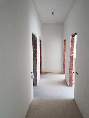 зашпаклеванные стены