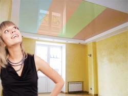 Все о вариантах выбора потолка