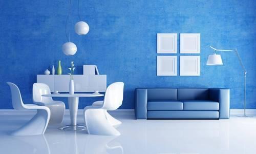 синий офис