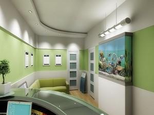 Отделка медицинских центров