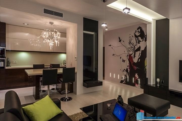 элитный дизайн жилых помещений