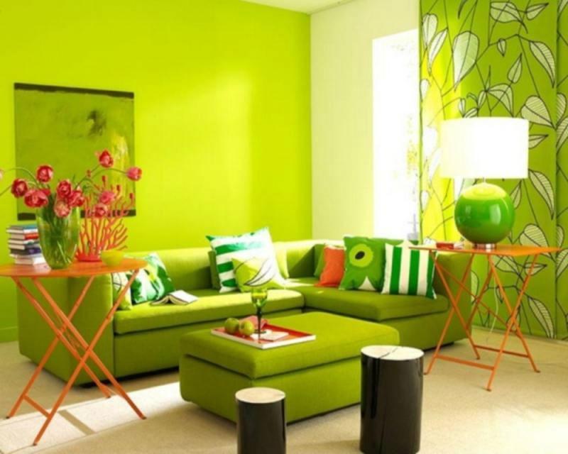 цвета в интерьере квартир