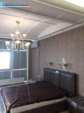 спальня в отремонтированной новостройке
