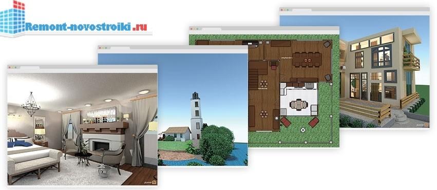 Дизайн проект загородных домов