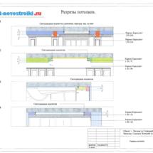 Дизайн проект потолков
