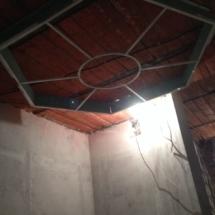 ветражная конструкция на потолке