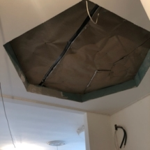 место в потолке под фреску