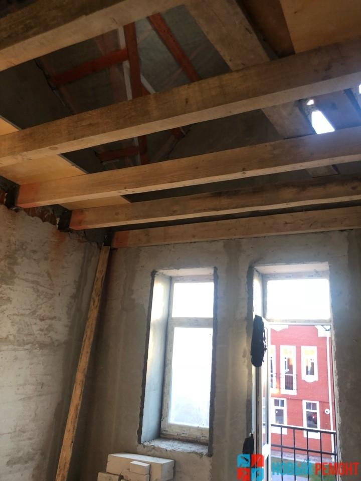 Монтаж межэтажных перекрытий
