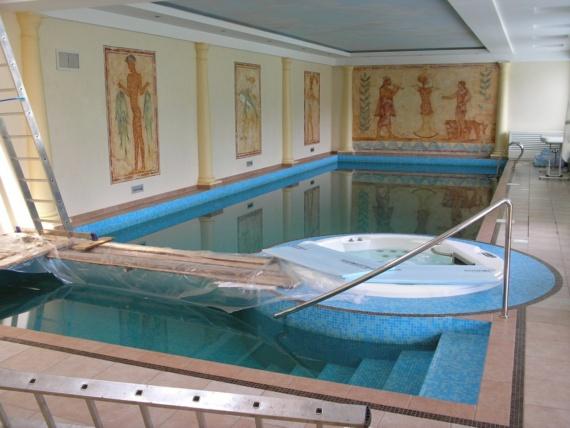 отделка бассейна