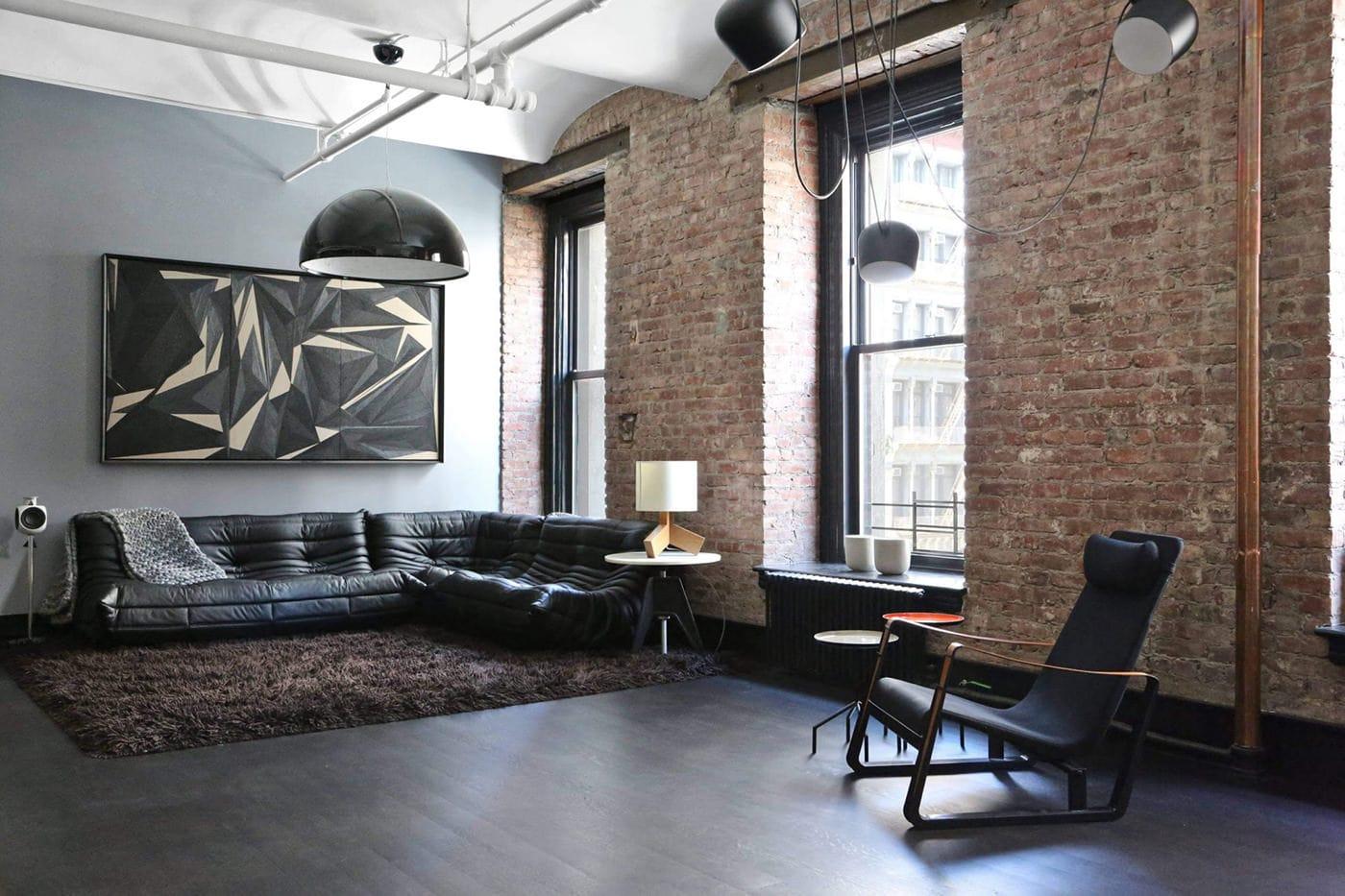 дизайн квартир в стиле гранж