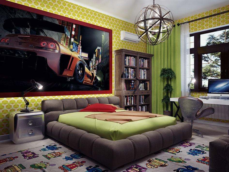 дизайн квартир в стиле китч