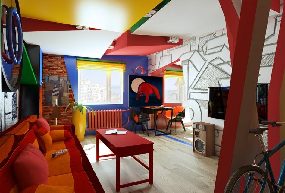 Ремонт квартир в стиле Китч