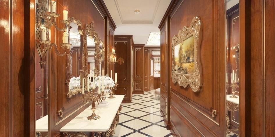отделка квартир в классическом стиле под ключ
