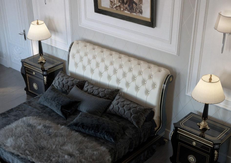 дизайн квартир в стиле классицизм спальня