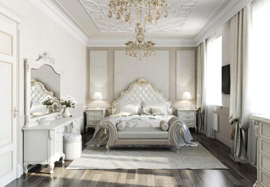 ремонт и дизайн в стиле классицизм