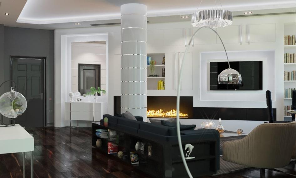 ремонт квартир в стиле модерн