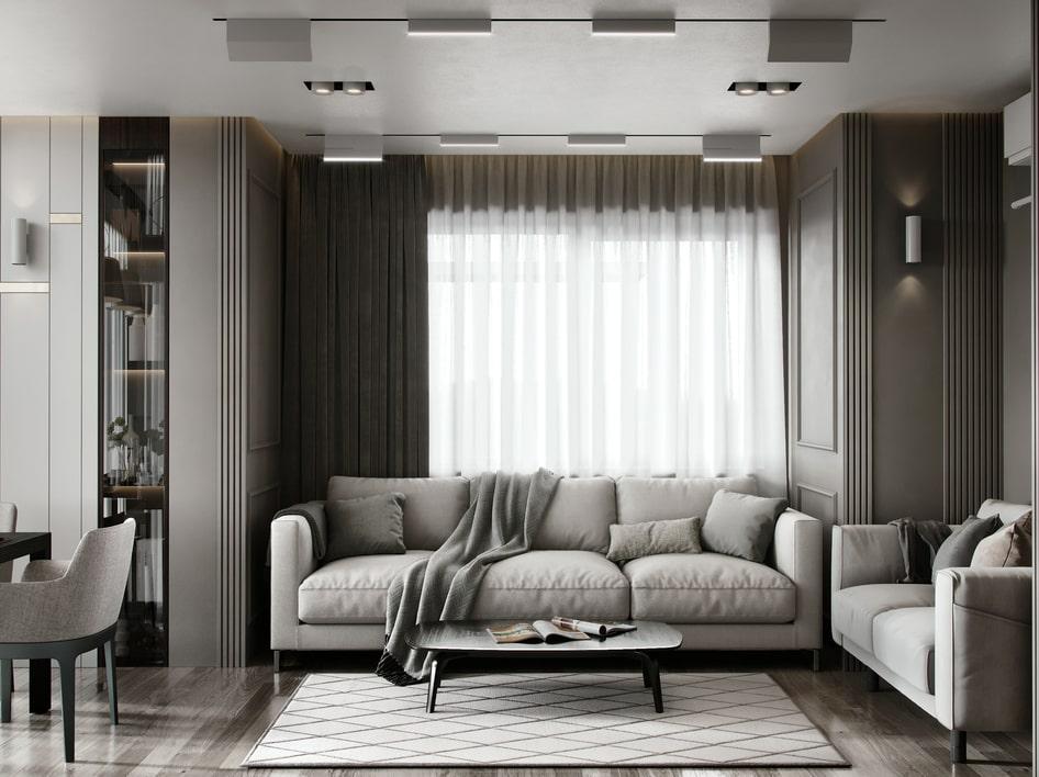 ремонт квартир в неоклассическом стиле