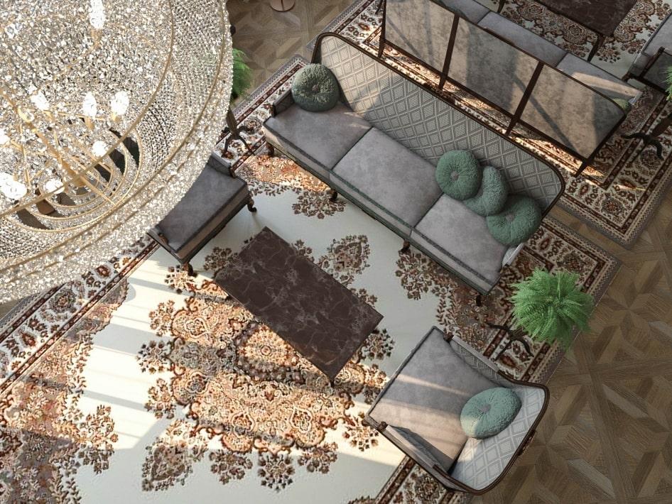 дизайн квартир в стиле рококо