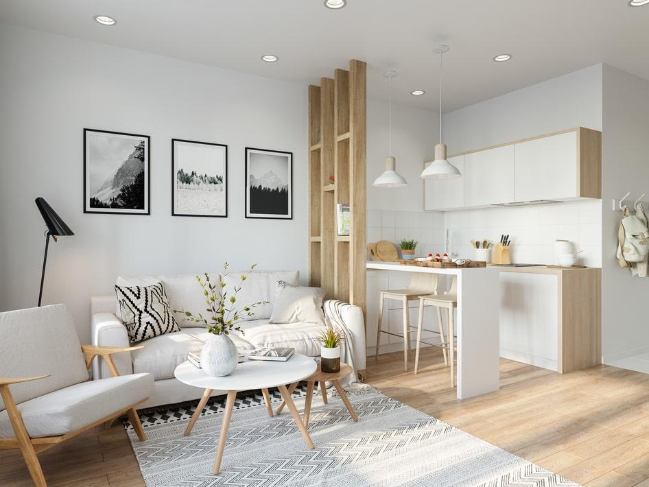 ремонт квартир в скандинавском стиле