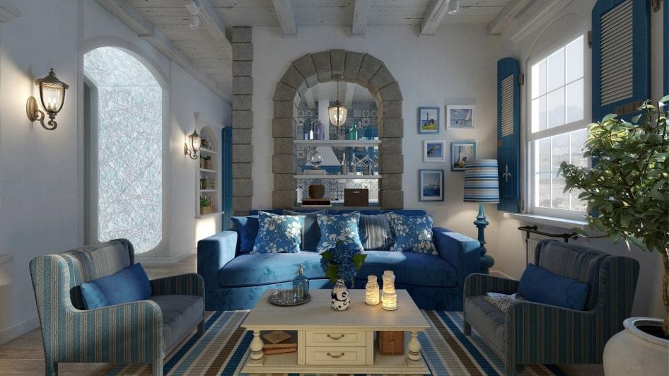 ремонт квартир в средиземноморском стиле