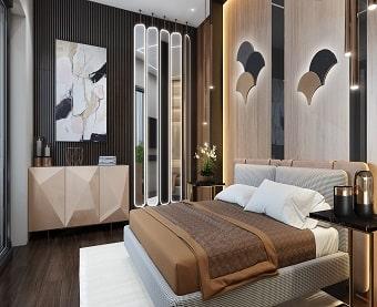 дизайн квартиры спальня