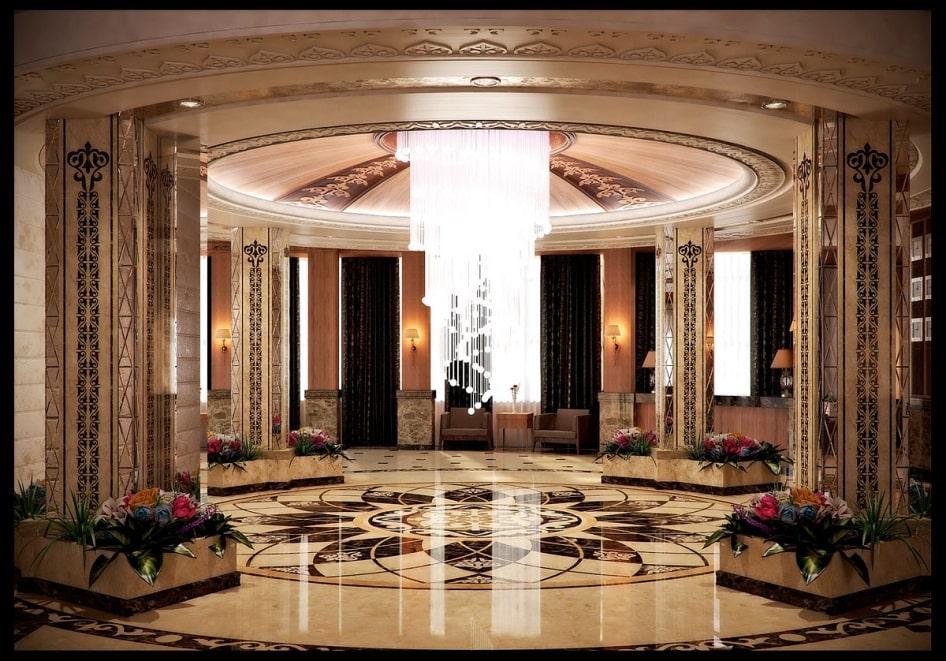 Пример элитного дизайна интерьера дома