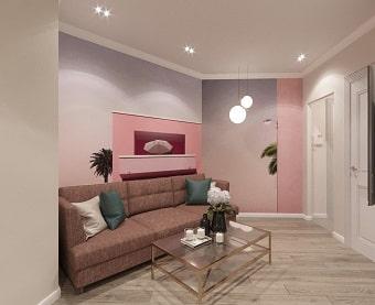 пример дизайна комнаты в квартире
