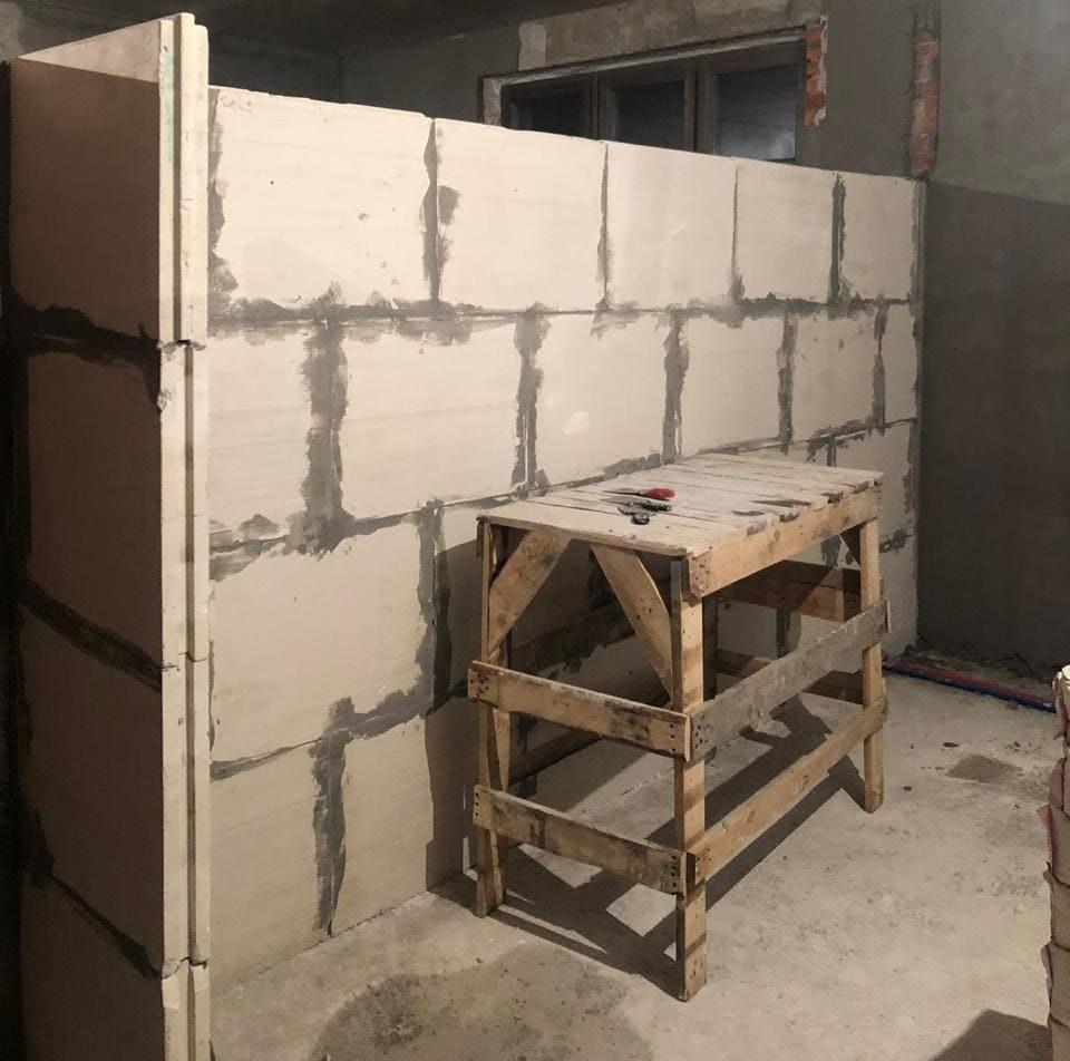 кладка стен в квартире