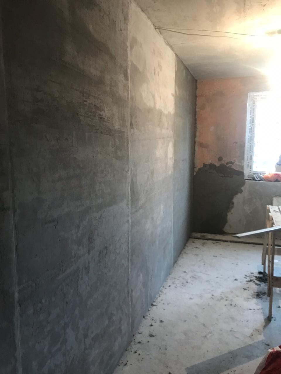 ровная штукатурка стен