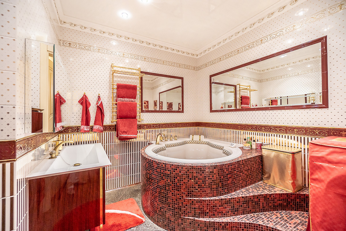 дизайнерская отделка ванны